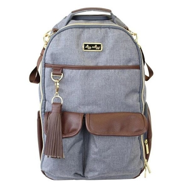 Boss Diaper Baby Backpack - Handsome Gray