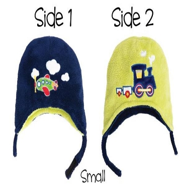 Reversible Winter Hat | SM | 6 Mo. - 3 Yrs.