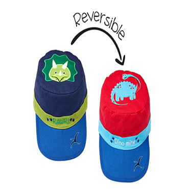 Reversible Kids Cap | LG. | 2 - 5 Years