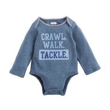 Crawl. Walk. Tackle 0 - 6 Month