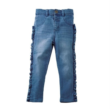 Girl Ruffle Jeans 9 - 12 Month