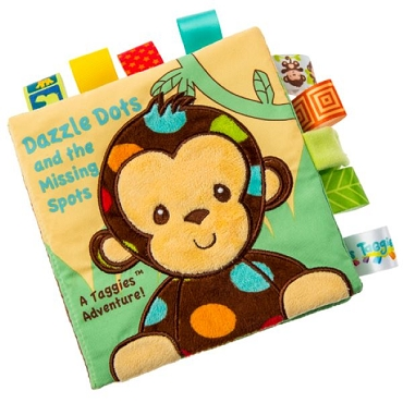 Taggie Soft Book-Dazzle Dots Monkey