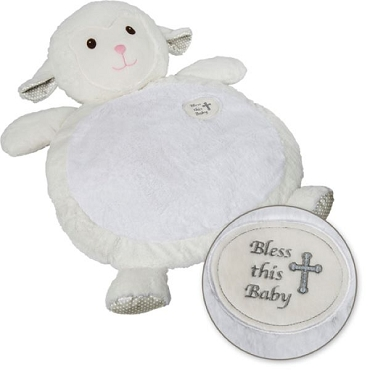 Baby Mat-Bless This Baby Lamb