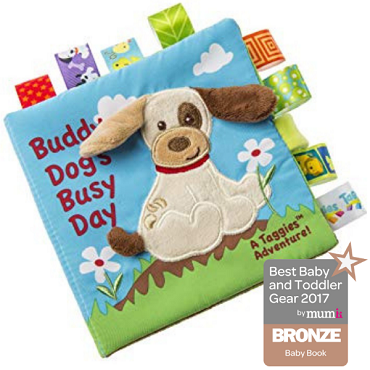 Taggies Soft Book-Buddy Dog