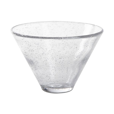Bubble Glass - Stemless Martini
