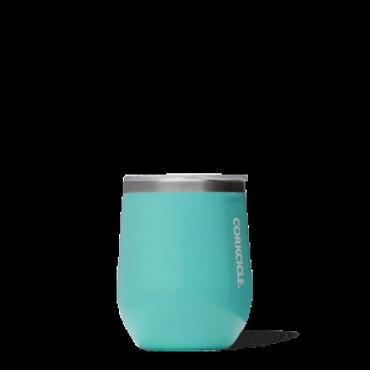 Corkcicle Stemless - Gloss Turquoise