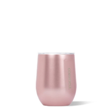 Corkcicle Stemless - Rose Metalic