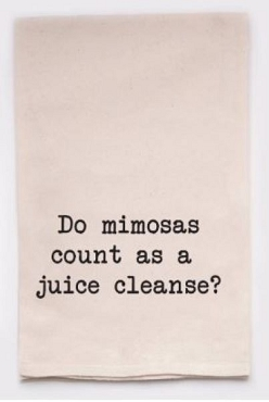 Tea Towel | Juice Cleanse Towel