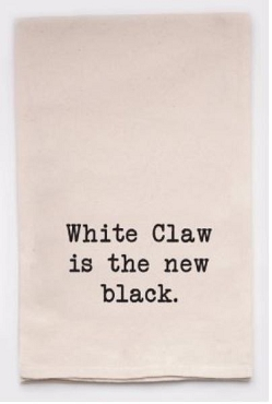Tea Towel | White Claw is the New Black